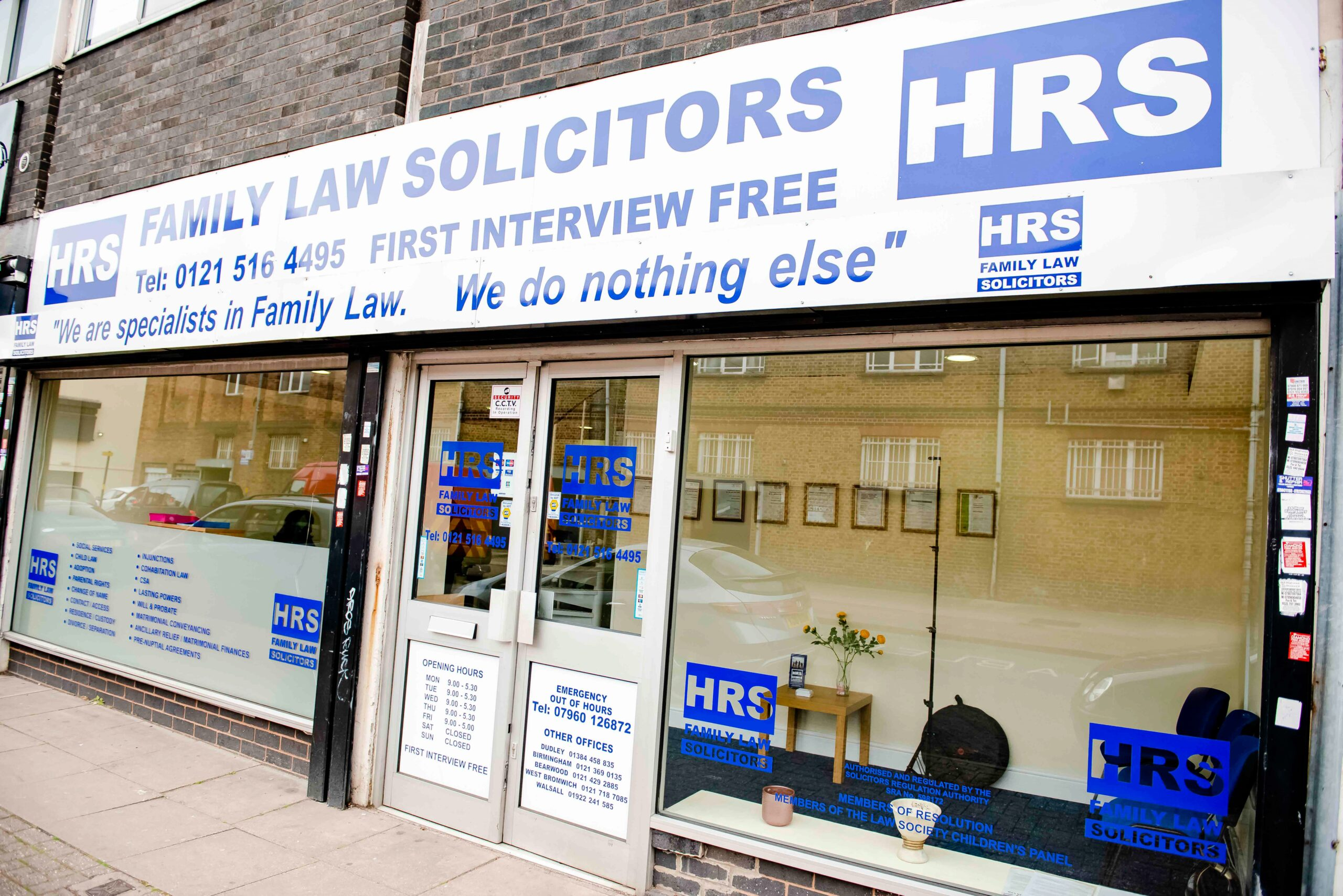 HRS Family Law Solicitors Erdington
