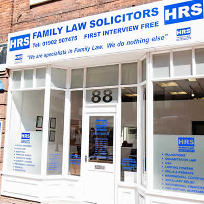HRS Family Law Solicitors Wolverhampton